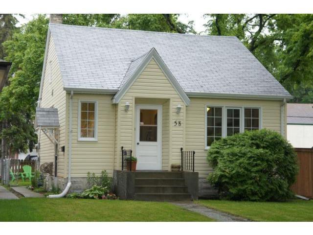 Main Photo: 58 Martin Avenue West in WINNIPEG: East Kildonan Residential for sale (North East Winnipeg)  : MLS®# 1212100