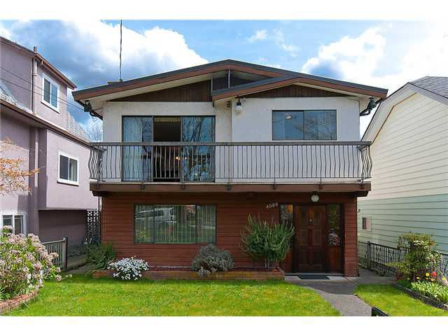 Main Photo: 4088 WELWYN ST in Vancouver: Victoria VE House for sale (Vancouver East)  : MLS®# V1004254