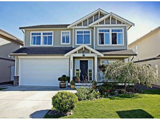"Main Photo: 34848 2ND Avenue in Abbotsford: Poplar House for sale in ""Poplar/Huntington Village"" : MLS®# F1310514"
