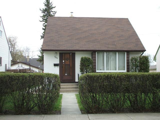 Main Photo: 566 Gareau Street in WINNIPEG: St Boniface Residential for sale (South East Winnipeg)  : MLS®# 1309563