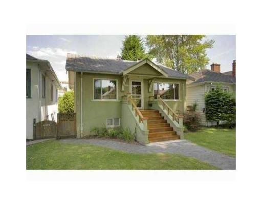Main Photo: 3539 W 10TH AV in Vancouver: House for sale : MLS®# V931077