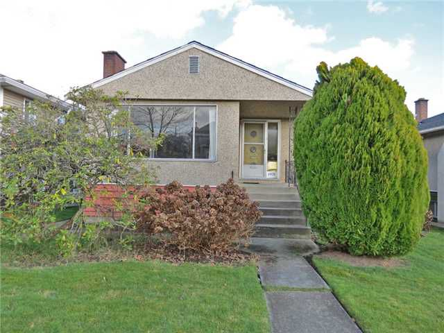 Main Photo: 6970 LANARK Street in Vancouver: Knight House for sale (Vancouver East)  : MLS®# V990282