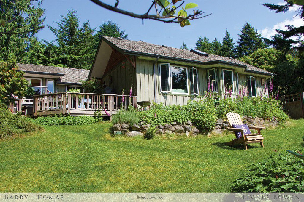 Main Photo: 1243 Miller Road in Bowen Island: Millers Landing House for sale : MLS®# V1126223
