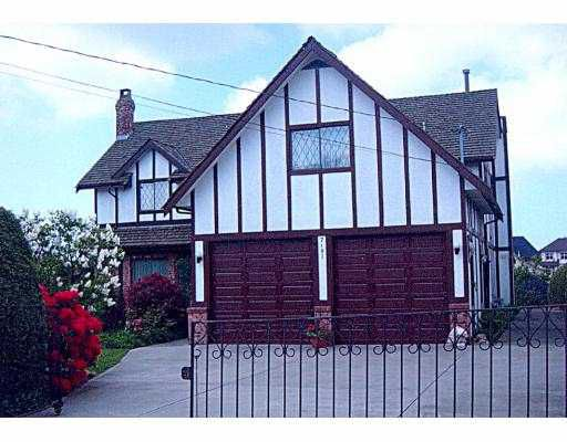 """Main Photo: 7191 ASH ST in Richmond: McLennan North House for sale in """"MCLENNAN SOUTH"""" : MLS®# V538618"""
