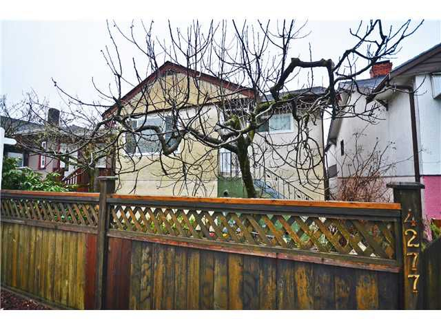Main Photo: 4277 KNIGHT Street in Vancouver: Knight House for sale (Vancouver East)  : MLS®# V995673