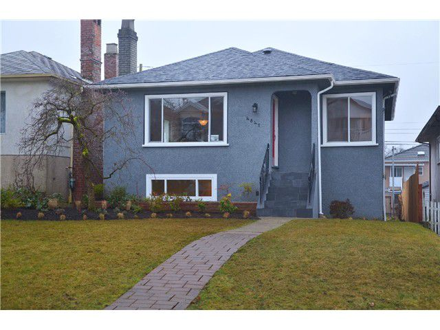 Main Photo: 4847 HENRY Street in Vancouver: Knight House for sale (Vancouver East)  : MLS®# V996847