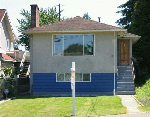 """Main Photo: 314 HOLMES ST in New Westminster: The Heights NW House for sale in """"The Heights"""" : MLS®# V598958"""