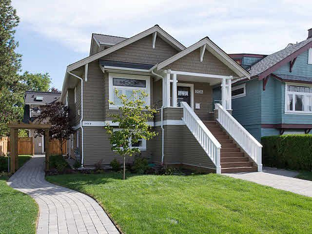 Main Photo: 3134 WEST 7TH Avenue in Vancouver: Kitsilano House 1/2 Duplex for sale (Vancouver West)  : MLS®# V1083517