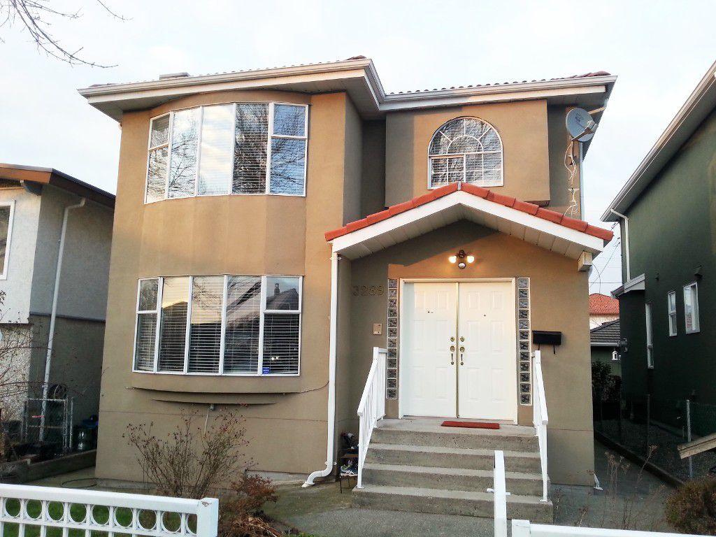 Main Photo: 3289 Parker Street in Vancouver: Renfrew VE House for sale (Vancouver East)  : MLS®# v1096684