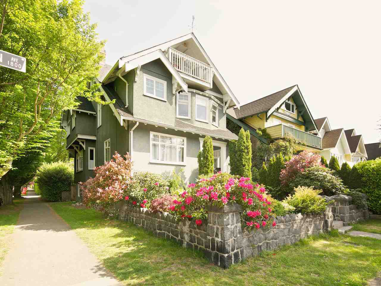 Main Photo: 1855 CREELMAN AVENUE in Vancouver: Kitsilano House for sale (Vancouver West)  : MLS®# R2064016