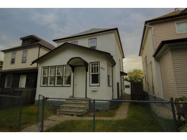 Main Photo: 443 McKenzie Street in WINNIPEG: North End Residential for sale (North West Winnipeg)  : MLS®# 1218900