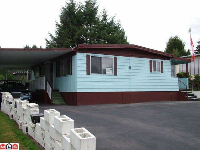 Main Photo: 8266 King George in Surrey: Bear Creek Green Timbers Manufactured Home for sale : MLS®# F1024778