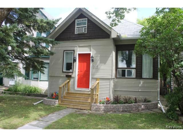 Main Photo: 215 Berry Street in WINNIPEG: St James Residential for sale (West Winnipeg)  : MLS®# 1417110