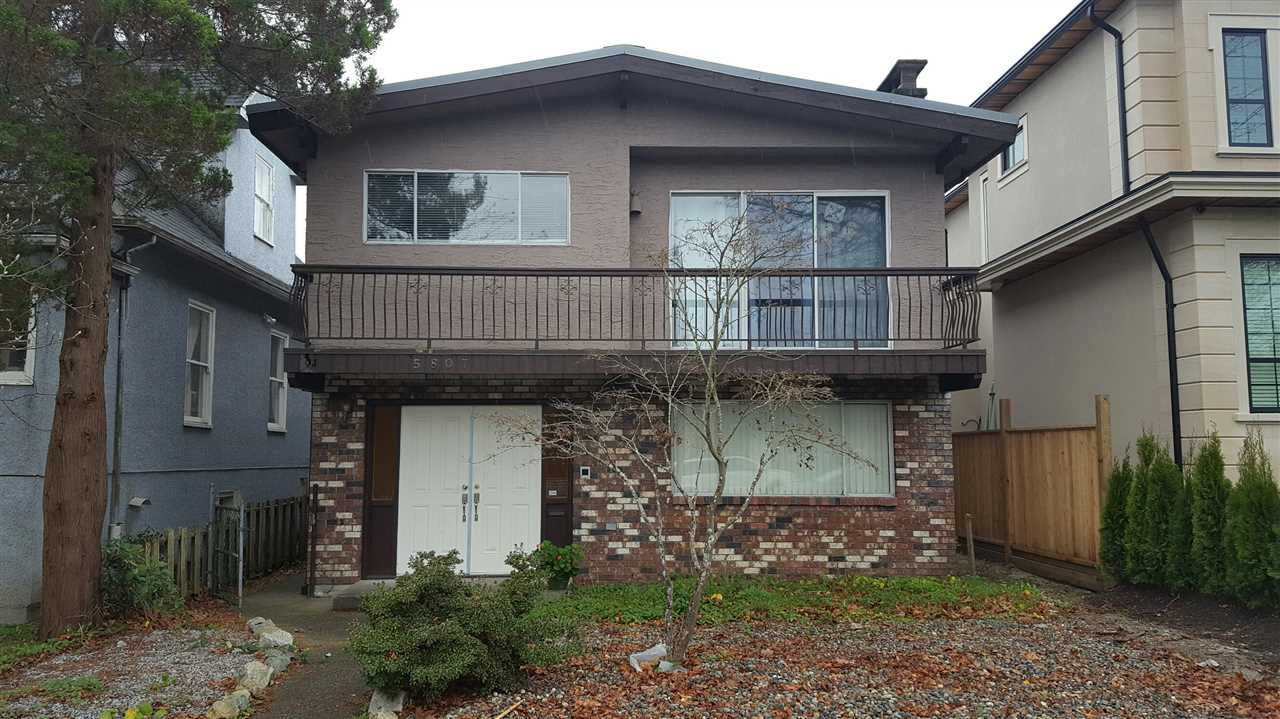 Main Photo: 5807 SOPHIA STREET in Vancouver: Main House for sale (Vancouver East)  : MLS®# R2130702
