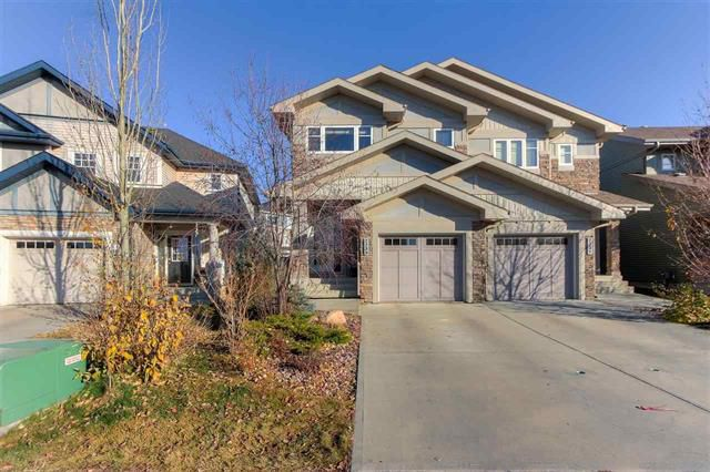 Main Photo: 2233 AUSTIN WY SW in Edmonton: House Half Duplex for sale : MLS®# E4142785