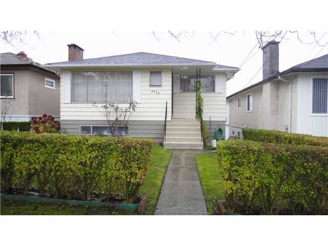 Main Photo: 4952 CHATHAM ST in Vancouver: Collingwood VE House for sale (Vancouver East)  : MLS®# V1040445