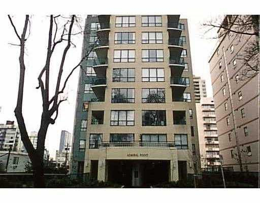 """Main Photo: 1003 1838 NELSON ST in Vancouver: West End VW Condo for sale in """"ADMIRAL POINT"""" (Vancouver West)  : MLS®# V539599"""