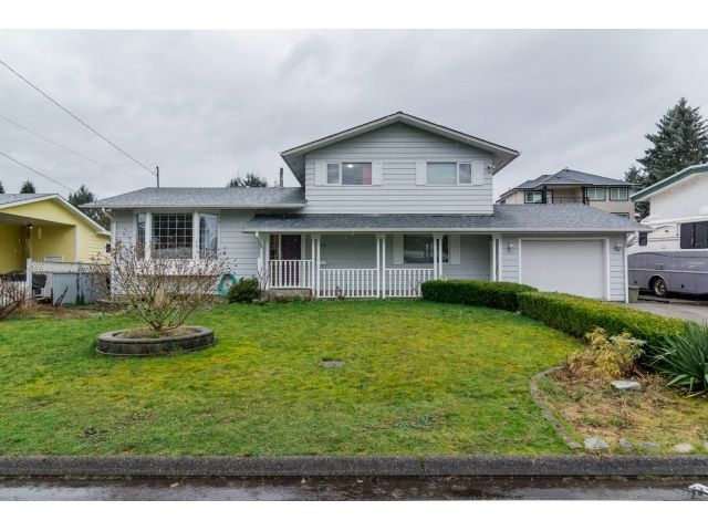 Main Photo: 2076 Majestic Crescent in Abbotsford: House for sale : MLS®# R2040664