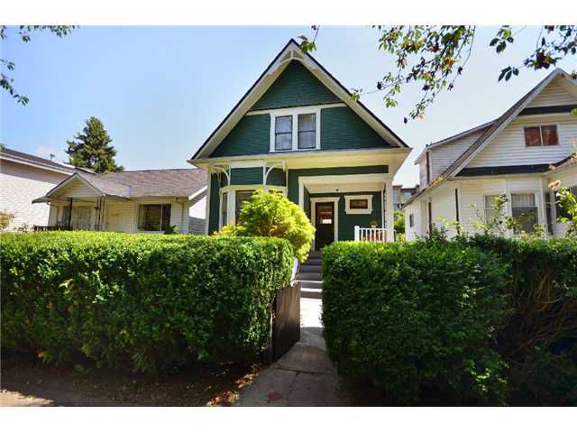 "Main Photo: 4446 QUEBEC Street in Vancouver: Main House for sale in ""RILEY PARK"" (Vancouver East)  : MLS®# V930228"