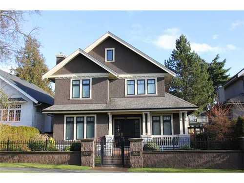Main Photo: 6520 CYPRESS Street in Vancouver West: South Granville Home for sale ()  : MLS®# V868538