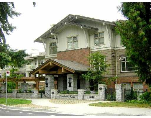 """Main Photo: 218 2083 W 33RD AV in Vancouver: Quilchena Condo for sale in """"DEVONSHIREHOUSE"""" (Vancouver West)  : MLS®# V602039"""