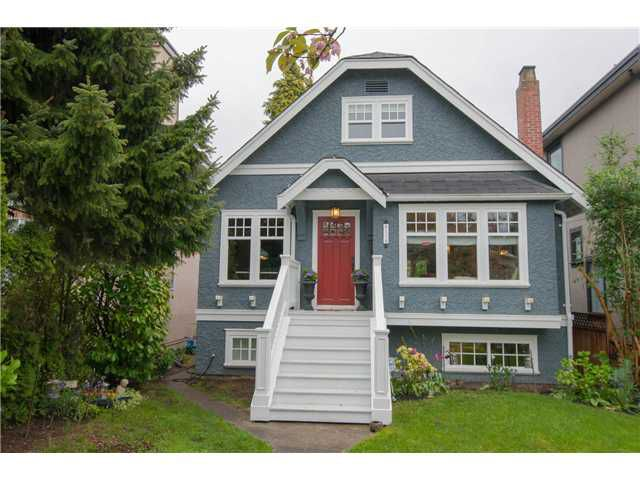 Main Photo: 6158 BALSAM ST in Vancouver: Kerrisdale House for sale (Vancouver West)  : MLS®# V1062348
