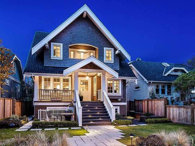 Main Photo: 3185 W 14TH AV in Vancouver: Kitsilano House for sale (Vancouver West)  : MLS®# V1117347