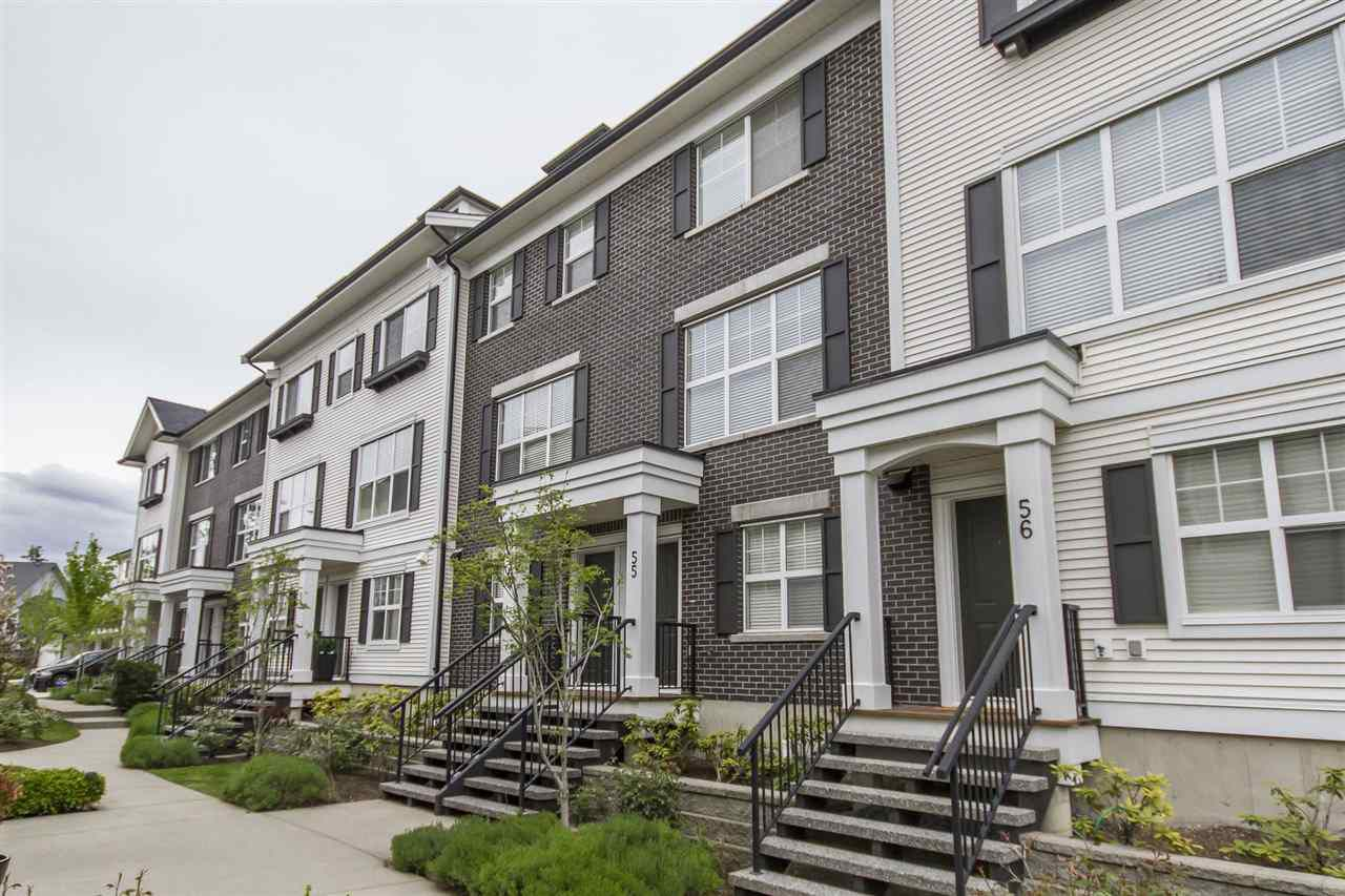 Main Photo: 55 2469 164 STREET in Surrey: Grandview Surrey Townhouse for sale (South Surrey White Rock)  : MLS®# R2265588