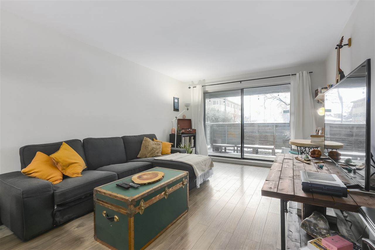 Main Photo: 120 2390 MCGILL STREET in Vancouver: Hastings Condo for sale (Vancouver East)  : MLS®# R2347357