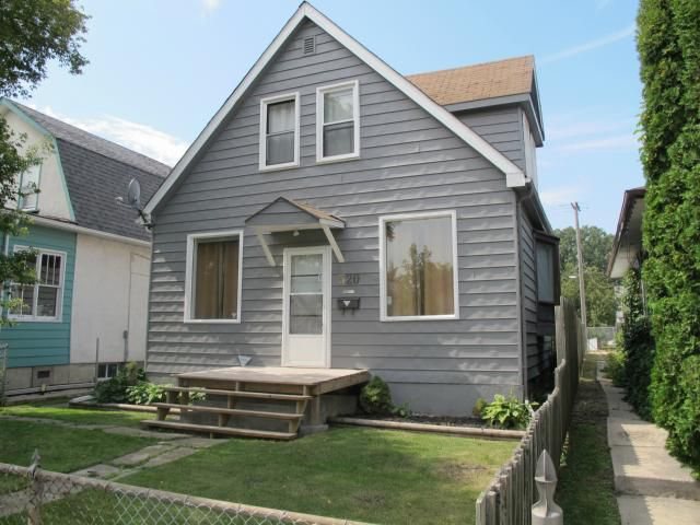 Main Photo: 320 Berry Street in WINNIPEG: St James Residential for sale (West Winnipeg)  : MLS®# 1217699