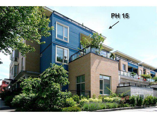 "Main Photo: PH15 688 E 17TH Avenue in Vancouver: Fraser VE Condo for sale in ""MONDELLA"" (Vancouver East)  : MLS®# V1013186"