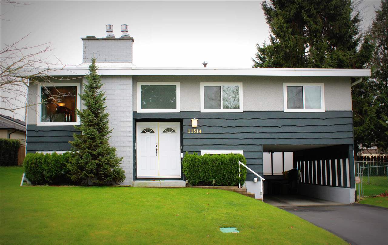 Main Photo: 11514 92A AVENUE in Delta: Annieville House for sale (N. Delta)  : MLS®# R2028989