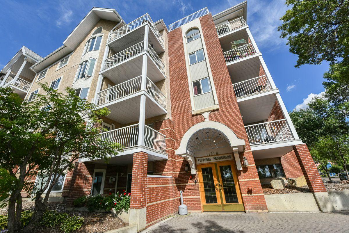 Main Photo: 407 11716 100 avenue in Edmonton: Oliver Condo for sale