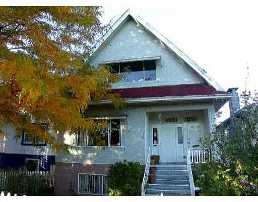 Main Photo: 1343 - 1345 E 13TH AV in : Grandview VE House Duplex for sale : MLS®# V320258