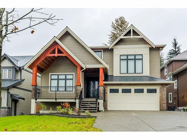 Main Photo: 1362 GLENBROOK ST in Coquitlam: Burke Mountain House for sale : MLS®# V1094801