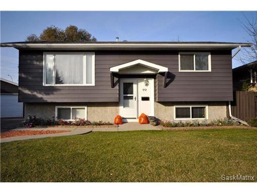 Main Photo: 99 SALEMKA CRES in Regina: Argyle Park Single Family Dwelling for sale (Regina Area 01)  : MLS®# 479489