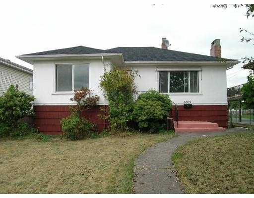 Main Photo: 3609 E 47TH AV in Vancouver: Killarney VE House for sale (Vancouver East)  : MLS®# V556650