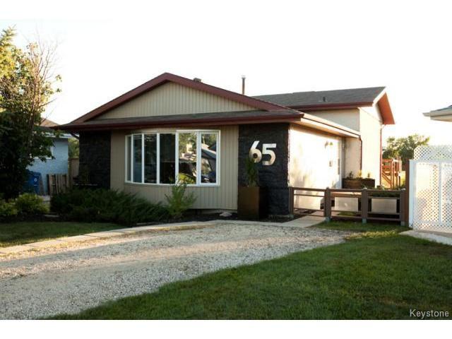 Main Photo: 65 Nolin Place in WINNIPEG: Fort Garry / Whyte Ridge / St Norbert Residential for sale (South Winnipeg)  : MLS®# 1319283