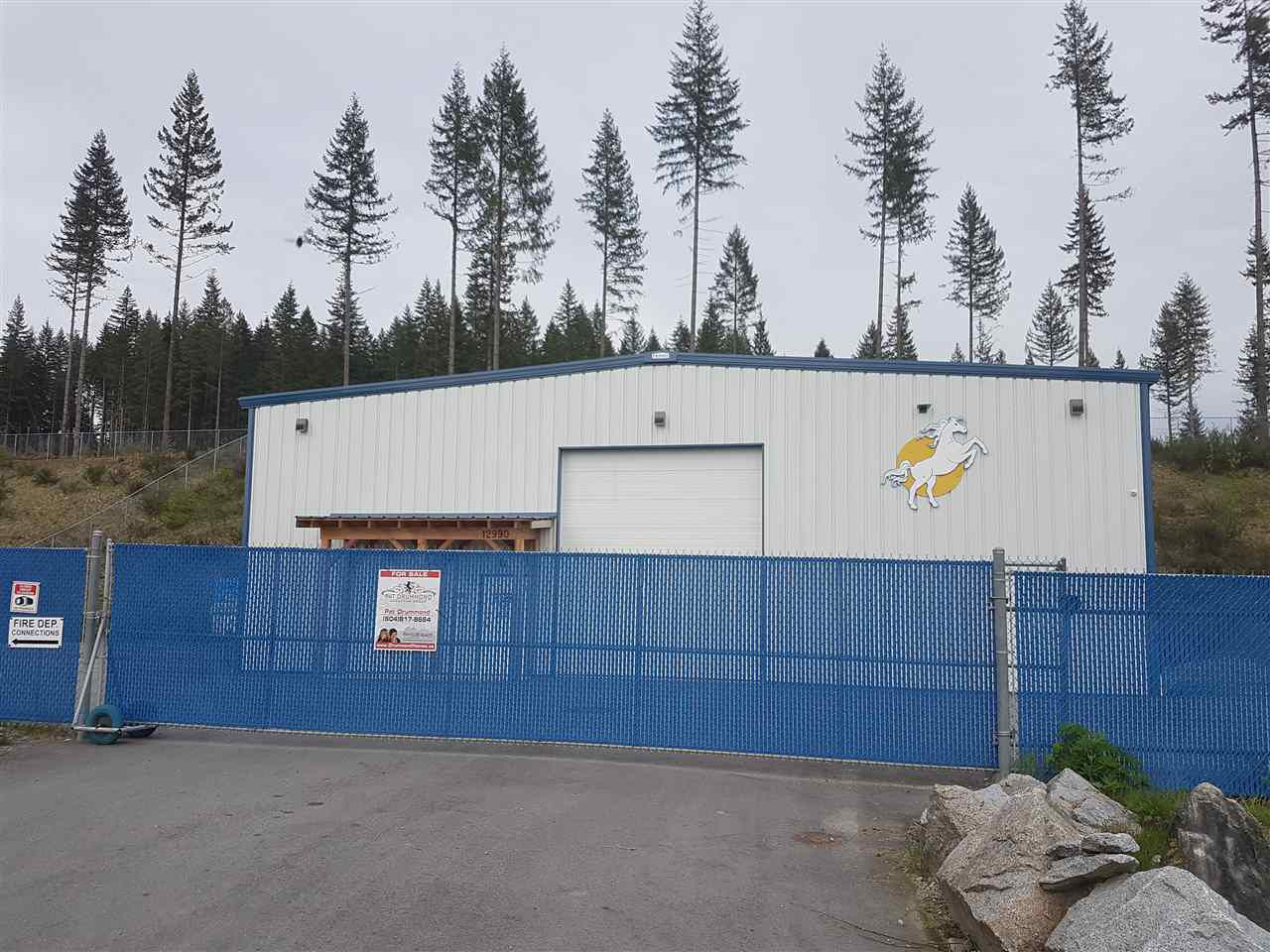 Main Photo: 12990 Lilley Drive in Maple Ridge: Websters Corners Industrial for sale : MLS®# C8019779
