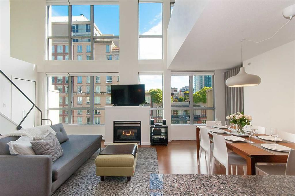 Main Photo: 608 1238 Richards St in Vancouver: Yaletown Condo  (Vancouver West)  : MLS®# r2256418