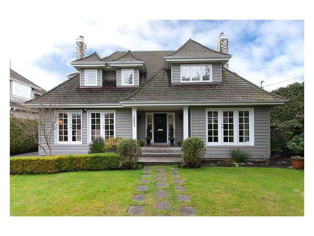 Main Photo: 3683 W 49TH Avenue in Vancouver: Southlands House for sale (Vancouver West)  : MLS®# V996798