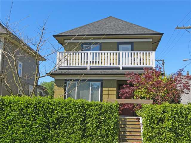 Main Photo: 197 E 22ND Avenue in Vancouver: Main House Duplex for sale (Vancouver East)  : MLS®# V1006294