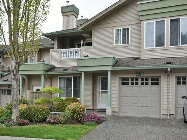 "Main Photo: 220 13888 70TH Avenue in Surrey: East Newton Townhouse for sale in ""Chelsea Gardens"" : MLS®# F1311493"
