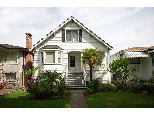 Main Photo: 2747 GRANT Street in Vancouver: Renfrew VE House for sale (Vancouver East)  : MLS®# V1008575