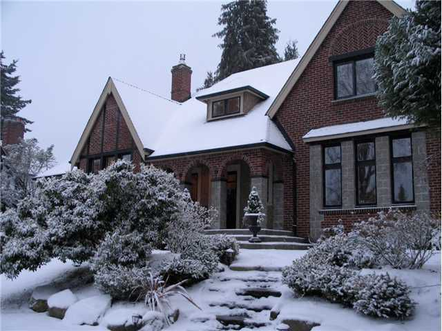 Main Photo: 1462 Minto Cr in Vancouver: Shaughnessy House for sale (Vancouver West)