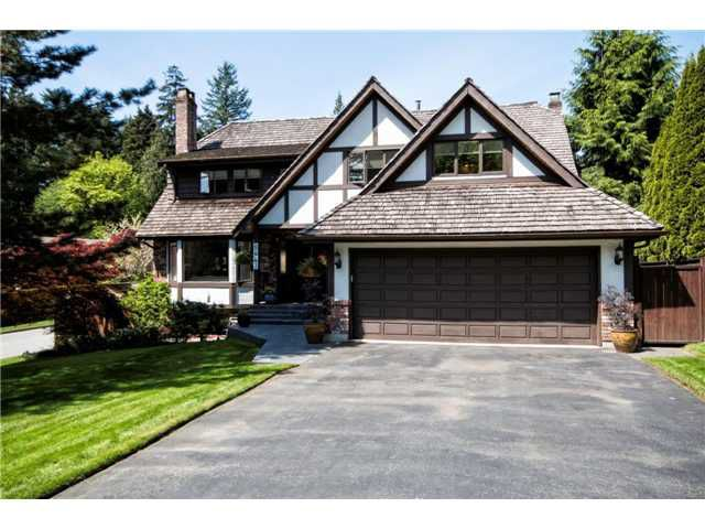Main Photo: 5441 CLIFFRIDGE AV in North Vancouver: Canyon Heights NV House for sale : MLS®# V1063759