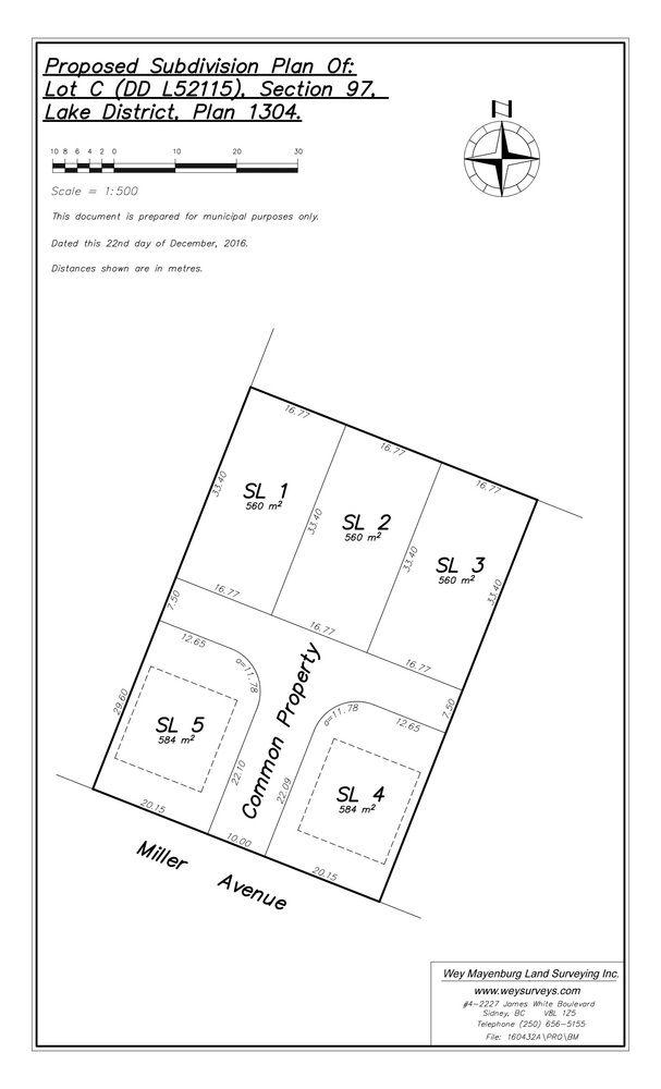 Main Photo: 738 Miller Ave...Development Site, Saanich, BC, V8Z 3C8: Land for sale