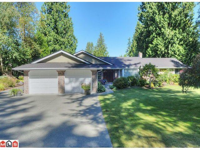 "Main Photo: 17333 26TH Avenue in Surrey: Grandview Surrey House for sale in ""COUNTRY WOODS"" (South Surrey White Rock)  : MLS®# F1222249"