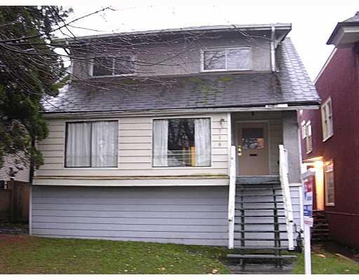 Main Photo: 716 E 15TH AV in : Mount Pleasant VE House for sale : MLS®# V797407