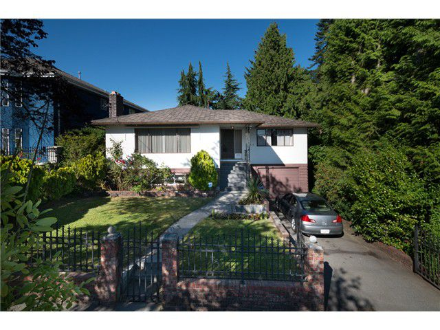 """Main Photo: 813 FOURTEENTH Street in New Westminster: West End NW House for sale in """"WEST END"""" : MLS®# V1078398"""